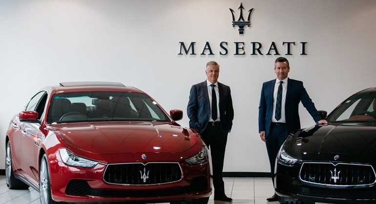 Winger Maserati
