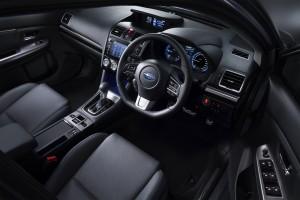 2017 Levorg cockpit
