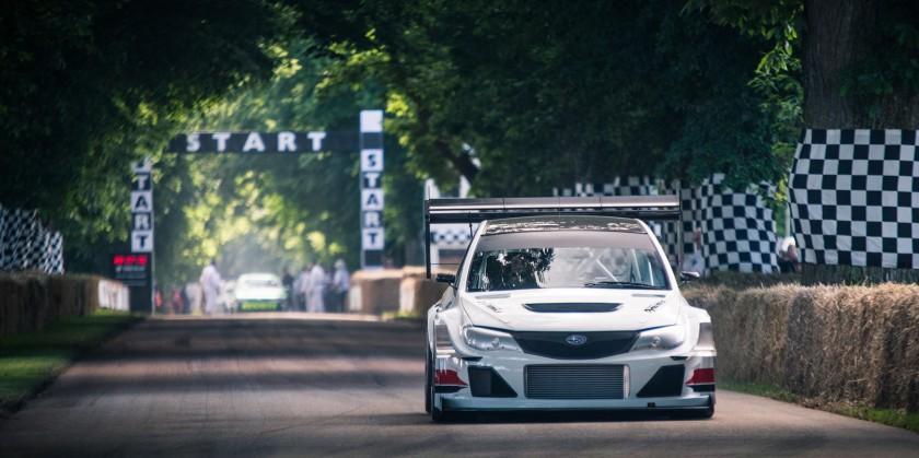 Olly Clarke's Subaru Impreza 'Gobstopper II'