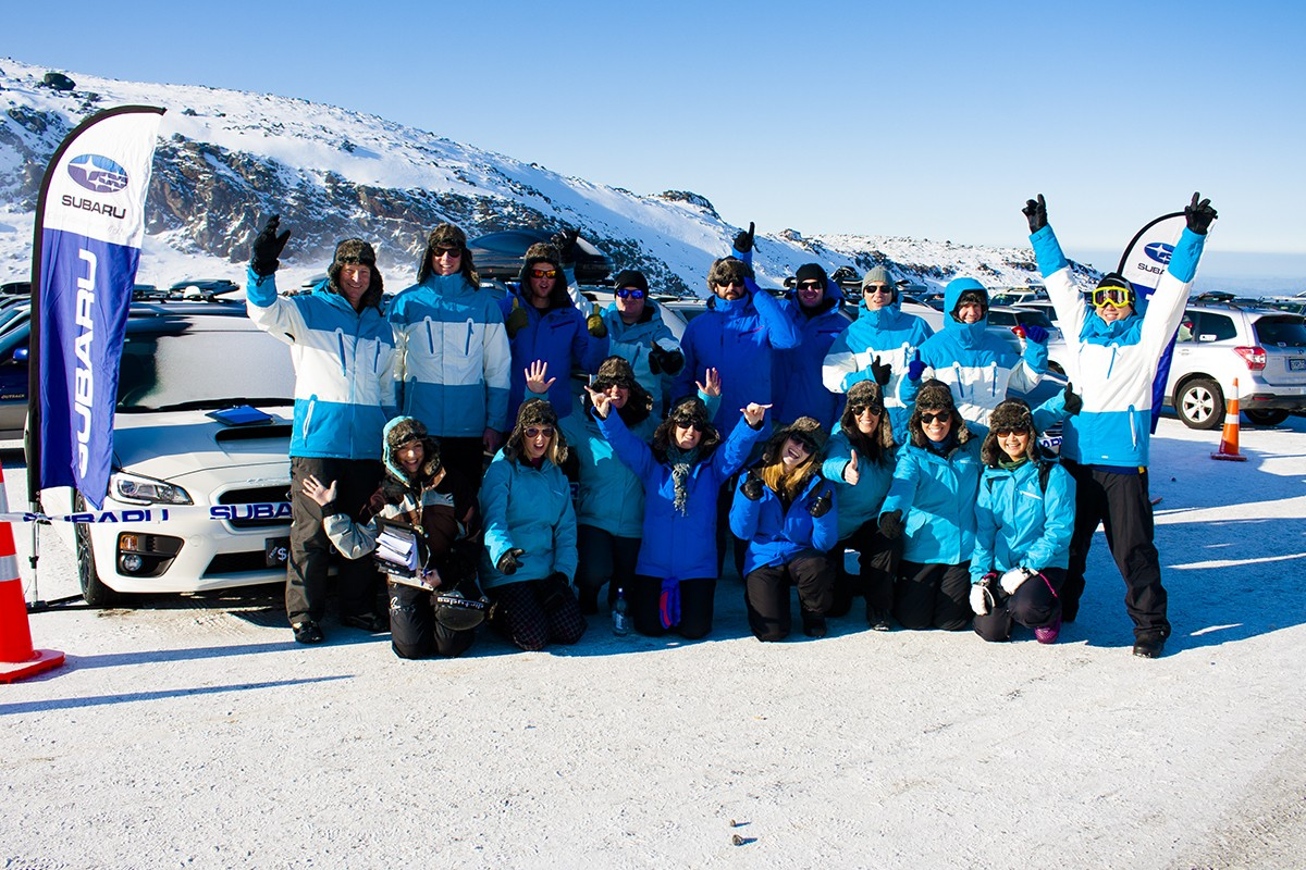 Subaru Top Weekend 2015 team