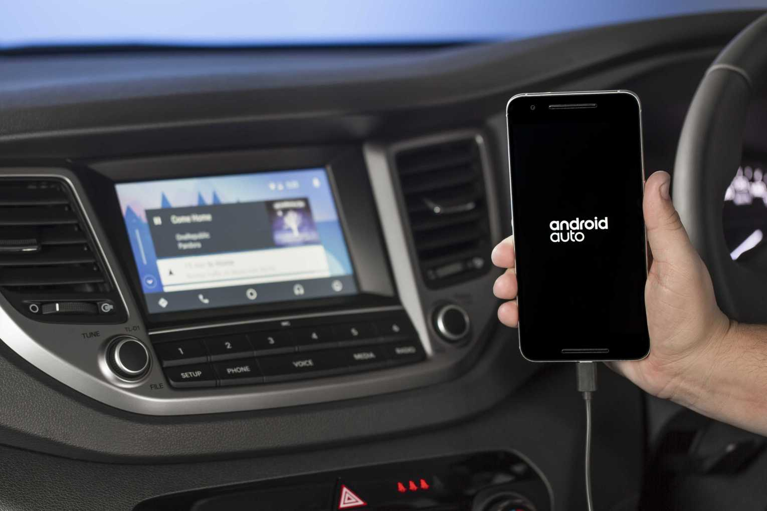 Hyundai launches Android Auto™ for leading models - Winger Group NZ