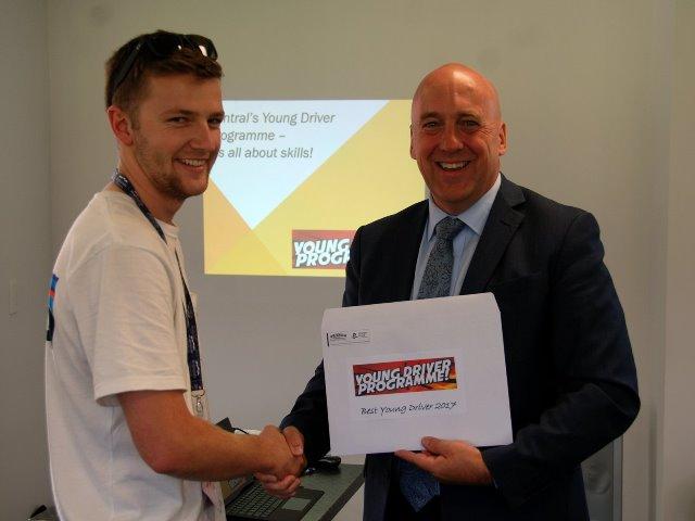 Michael Ward - Winner Best Young Driver 2017
