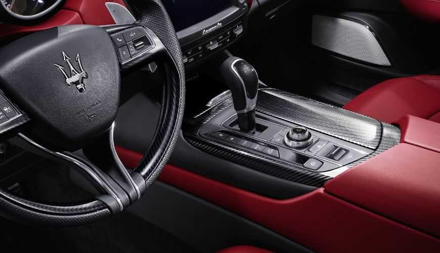 Maserati Levante Luxury Interior image